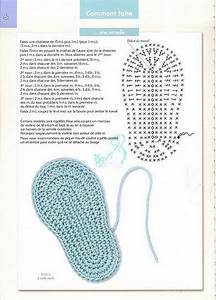 Pattern Booties Baby Crochet