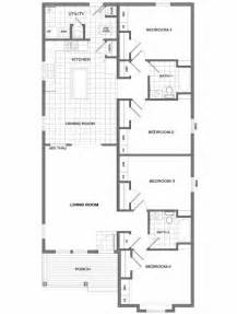 4 bedroom single house plans four bedroom house plans one four bedroom house plans just right in the middle open