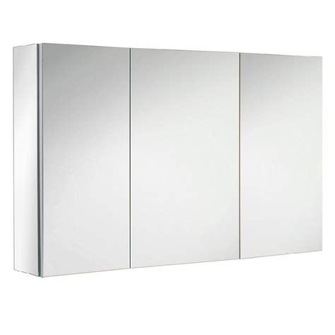 bain de si鑒e pharmacie armoire de toilette box 110cm 3 portes miroir sanijura réf 934737