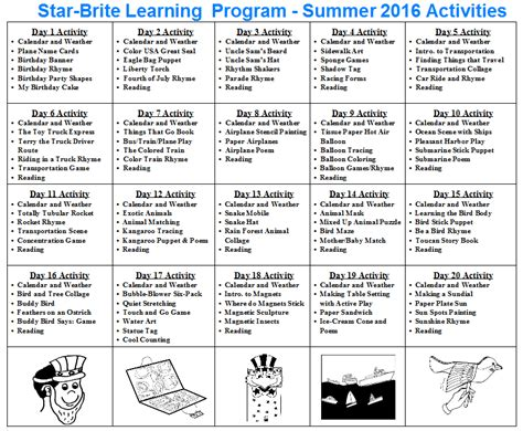 brite learning program 528 | Summer%2BCalendar%2B2016