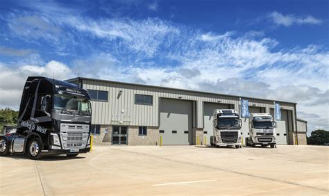volvo heavy truck dealer truck and bus wales and west opens shepton mallet branch