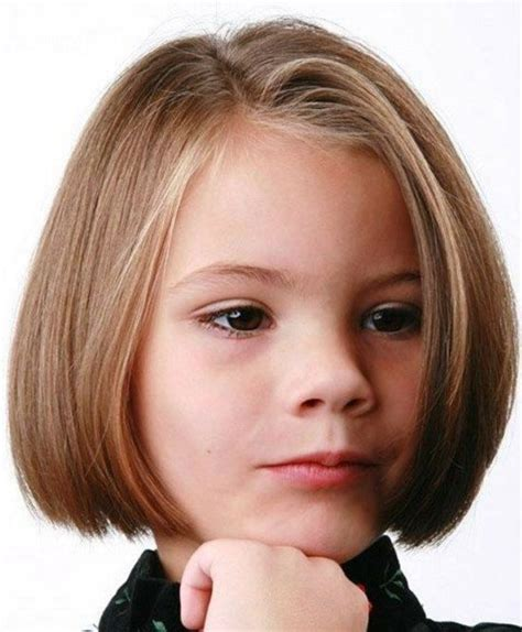 girls hairstyles   girl bob hairstyles side parted  short straight hair