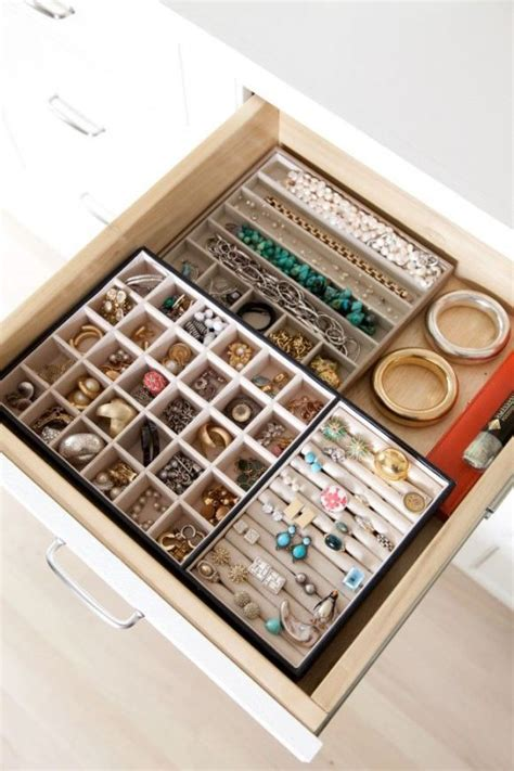 Closet Drawer Organization Ideas by Jewellery Drawer Dividers Organizing The Closet