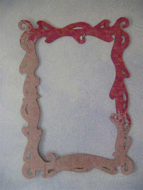 cadre en papier mach 233 customizations cr 233 ations diverses et peintures textiles uniques