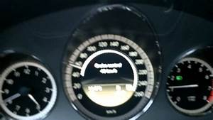 Operating Mercedes-benz Cruise Control