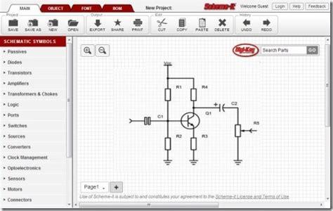 Free Online Circuit Diagram Creator Create Electronic