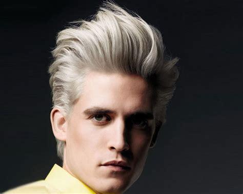 Trendy Streaks Of Hair Color For Men