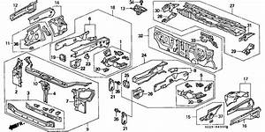 Honda Odyssey Body Parts Diagram