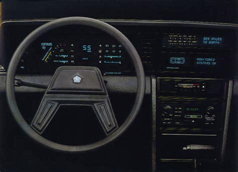 eBay Find: 1984 Chrysler Laser Turbo – Mopar's Answer For ...
