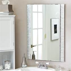 bathroom mirror ideas on wall bathroom mirrors design and ideas inspirationseek