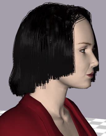modeling hair  level  detail representations