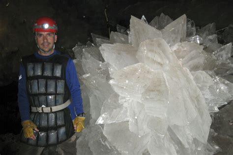 microbes wake    year nap  cave crystals