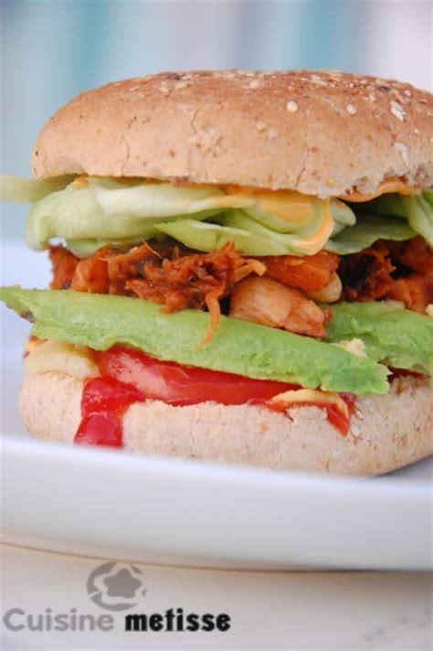 cuisine metisse pulled jackfruit burger burger végé qui tue cuisine