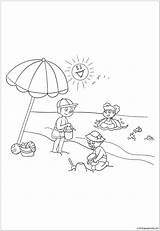 Playing Coloring Sprinkler Template sketch template