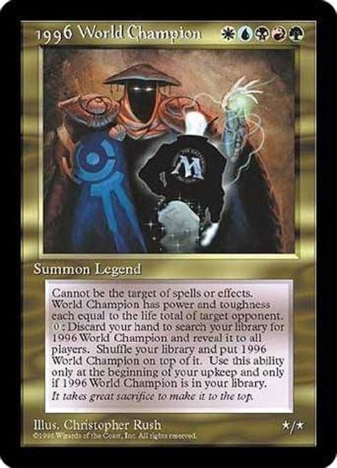 Mtg World Chionship Decks Wiki by The Most Rarest And Expensive Magic Cards Quora