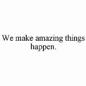 WE MAKE AMAZING THINGS HAPPEN. Trademark of Natel ...