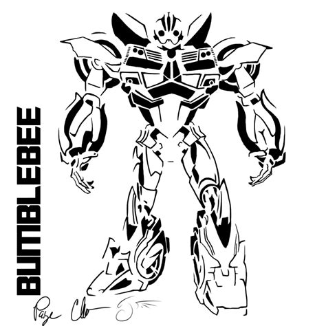Pictures Of Bumble Bee Transformer Bumblebee Coloring Pages Transformer Robot In Disguise Bumblebee Coloring Pages Az Coloring