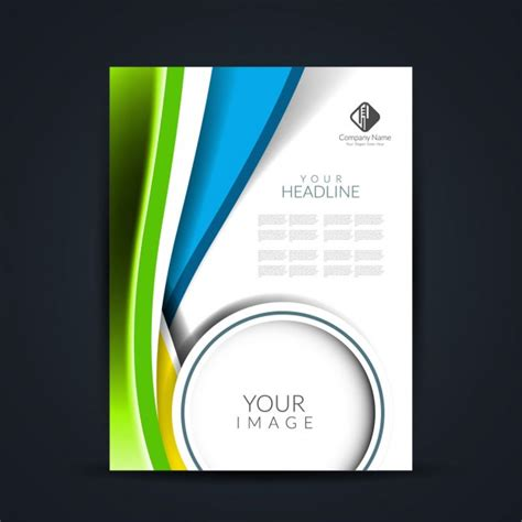 Colorful Corporate Business Flyer Template Psd File Free Abstract Colorful Business Flyer Vector Free