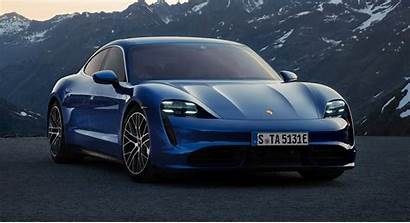 Porsche Taycan Turbo Electric Carscoops