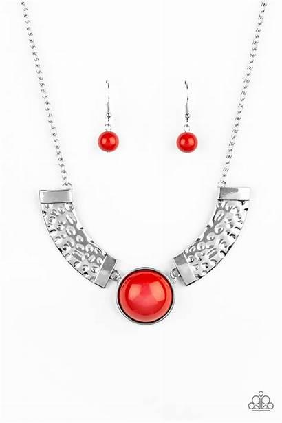 Orange Spell Egyptian Necklaces