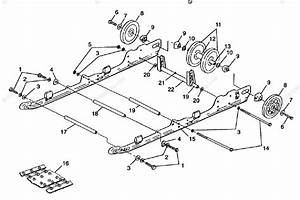 Polaris Snowmobile 1998 Oem Parts Diagram For Suspension