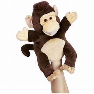 Marionnette à Main : marionnette main singe marionnettes et th tre nathan mat riel ducatif ~ Teatrodelosmanantiales.com Idées de Décoration