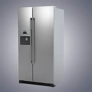 Siemens Side By Side : 3d siemens ka60na45 rrefrigerator model ~ Frokenaadalensverden.com Haus und Dekorationen