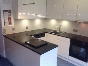 Koln black nest granit kuchenarbeitsplatte for Granit küchenarbeitsplatte