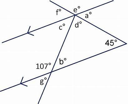 Angles Parallel Lines Worksheet Angle Triangles Geometry