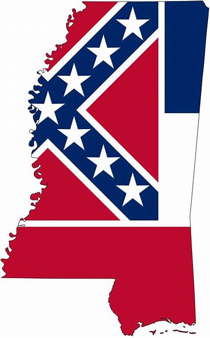 Mississippi Flag Clipart Map State 20clipart Bandiera