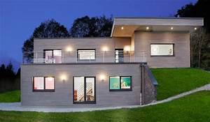 maison bois contemporaine contemporain facade dijon With deco mur exterieur maison 6 g2h habitat