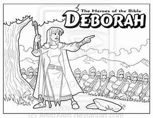 Deborah coloring page by ArtistXero on DeviantArt
