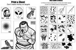 Free Printable Camo Stencil Patterns