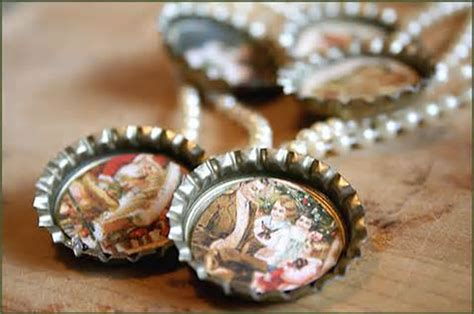Trash to Treasures: Bottle Cap Crafts: Jewelry, Magnets and More ? Wistariahurst Museum