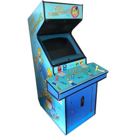 4 Player Arcade Cabinet Australia by The Simpsons Arcade Machine