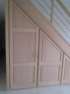 le rangement sous escalier un placard tendance With porte de placard sous escalier