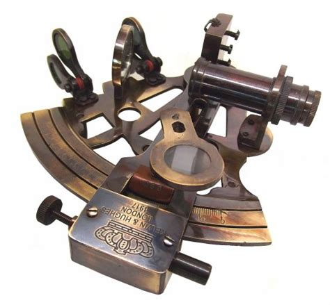 Victorian Marine Travelling Nautical Sextant For The