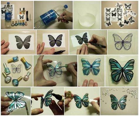 plastic bottle butterfly praktic ideas find fun art