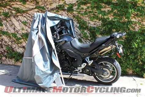 Speed-way Motorsport Shelters Motorcycle Cover Review