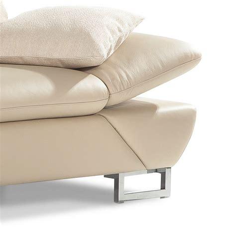 canape tissu design canapé profondeur assise réglable appuie têtes lineflex