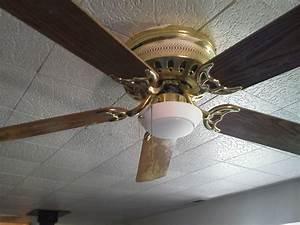 Ceiling fan light install