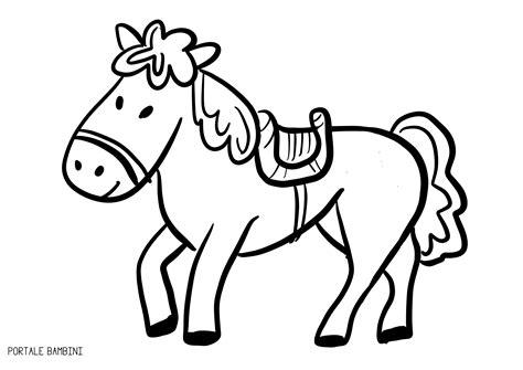 disegni per bambini da colorare di animali disegni di cavalli da colorare portale bambini