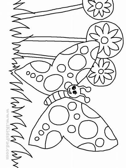 Drawing Coloring Garden Children Flowers Printable Dream