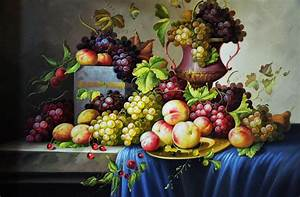 oil painting still life fruit | http://lomets.com