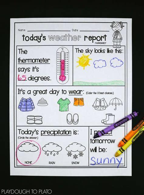 weather activities education ideas