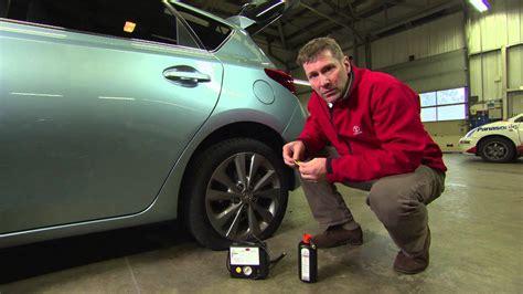 Tyre Puncture Repair Kit With 20 Black Tyre Strings