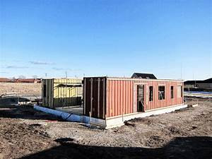 Upcycle House: Two Prefabricated Shipping Containers