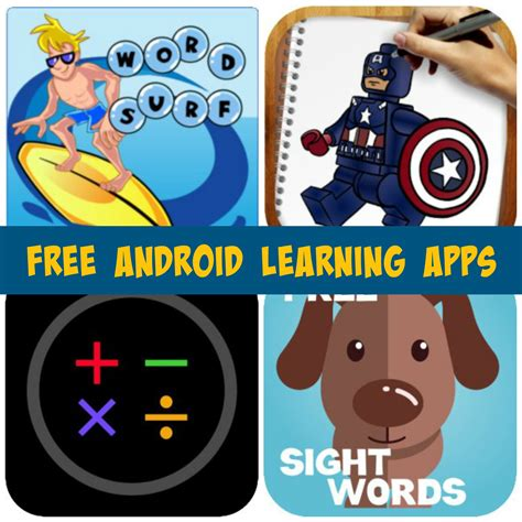 free learning free android learning apps for word surf