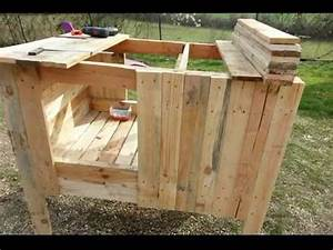 Construire Un Poulailler En Bois : comment construire un poulailler en palette youtube ~ Melissatoandfro.com Idées de Décoration