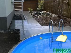 Kleiner Pool Im Garten : pomosus garten und landschaftsbau kleiner garten mit pool und teich ~ Sanjose-hotels-ca.com Haus und Dekorationen